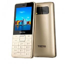 Tecno T401 Triple SIM, Facebook, Browser And More - Gold,Black