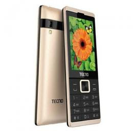 Tecno T528 - 2.8 Inch, Dual Sim, FM Radio, Camera,Battery 2500mAh - Gold