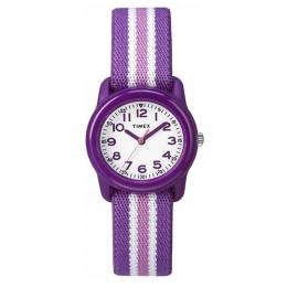 Timex TW7C06100 Kid's Purple/White Dial Analogue Quartz Watch