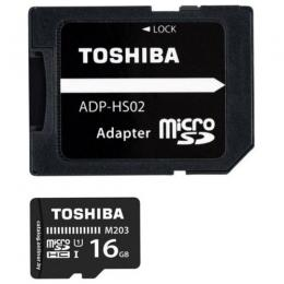 TOSHIBA MICRO SD CARD -16GB
