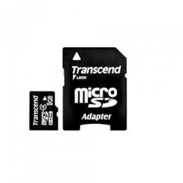 Transcend 8gb microsdhc class 4 with adapter