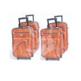 Trolley Travel Bag 4-Piece Set Leather 527bf4d065e85