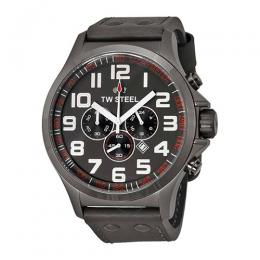 TW Steel TW423 Pilot Chronograph Leather Watch