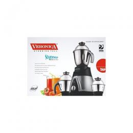 Veronica Stunner Mixer Grinder, For Wat And Dry Grinding, 1HP