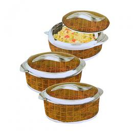 VTCL 3 Pcs Sweet Insulated Serving Dish
