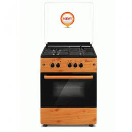 MAXI Gas Cooker 60*60 (3+1) IGL Wood