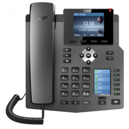 Fanvil X4 4-Line Enterprise IP-Phone with Colour Screens & 30 DSS Keys - deluxe.com.ng
