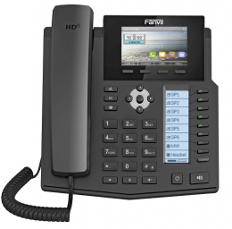 Fanvil X5S 6 line Executive IP-Phone with Colour Screens & 40 DSS Keys - deluxe.com.ng