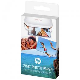 "HP SPROCKET ZINK® Sticky-backed 2"" x3"" Photo Paper (20 Sheet Pack) W4Z13A"
