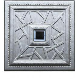 3D BEIGE LEATHER WALL PANEL - XK-25