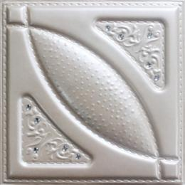 3D BEIGE LEATHER WALL PANEL - XK-44