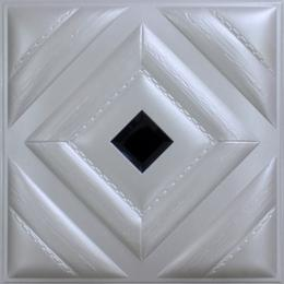 3D BEIGE LEATHER WALL PANEL - XK-58