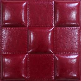 3D WINE LEATHER WALL PANEL - XK-59
