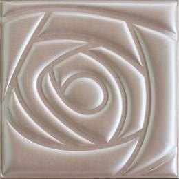 3D BEIGE LEATHER WALL PANEL - XK-67