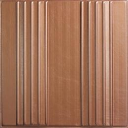 3D BROWN LEATHER WALL PANEL - XK-73