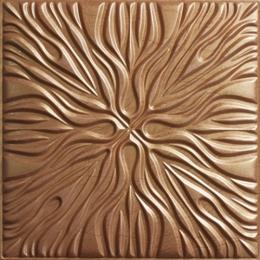 3D BROWN LEATHER WALL PANEL - XK-76