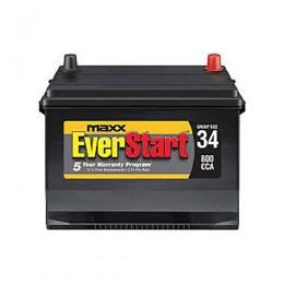 EverStart 12V 100AH SEALED CALCIUM MF BATTERY (Made In Korea)