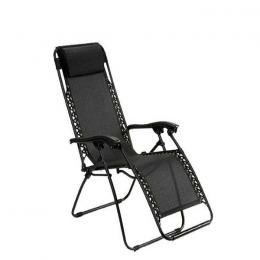 Zodiac Caravan Canopy Zero Gravity Chair – Black